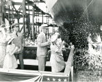 Launching of the S.S. George Durant