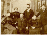 Mary and William Poisson, Florence and William Faucette, Robert C Merritt and Fannie Merritt.
